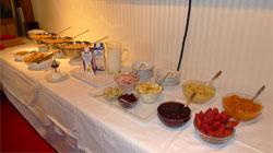 Geelong Accommodation Breakfast Spread